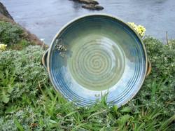 Solorio Pottery Grape Bowl