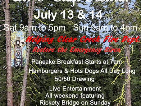 Clear Creek Arts and Crafts Event