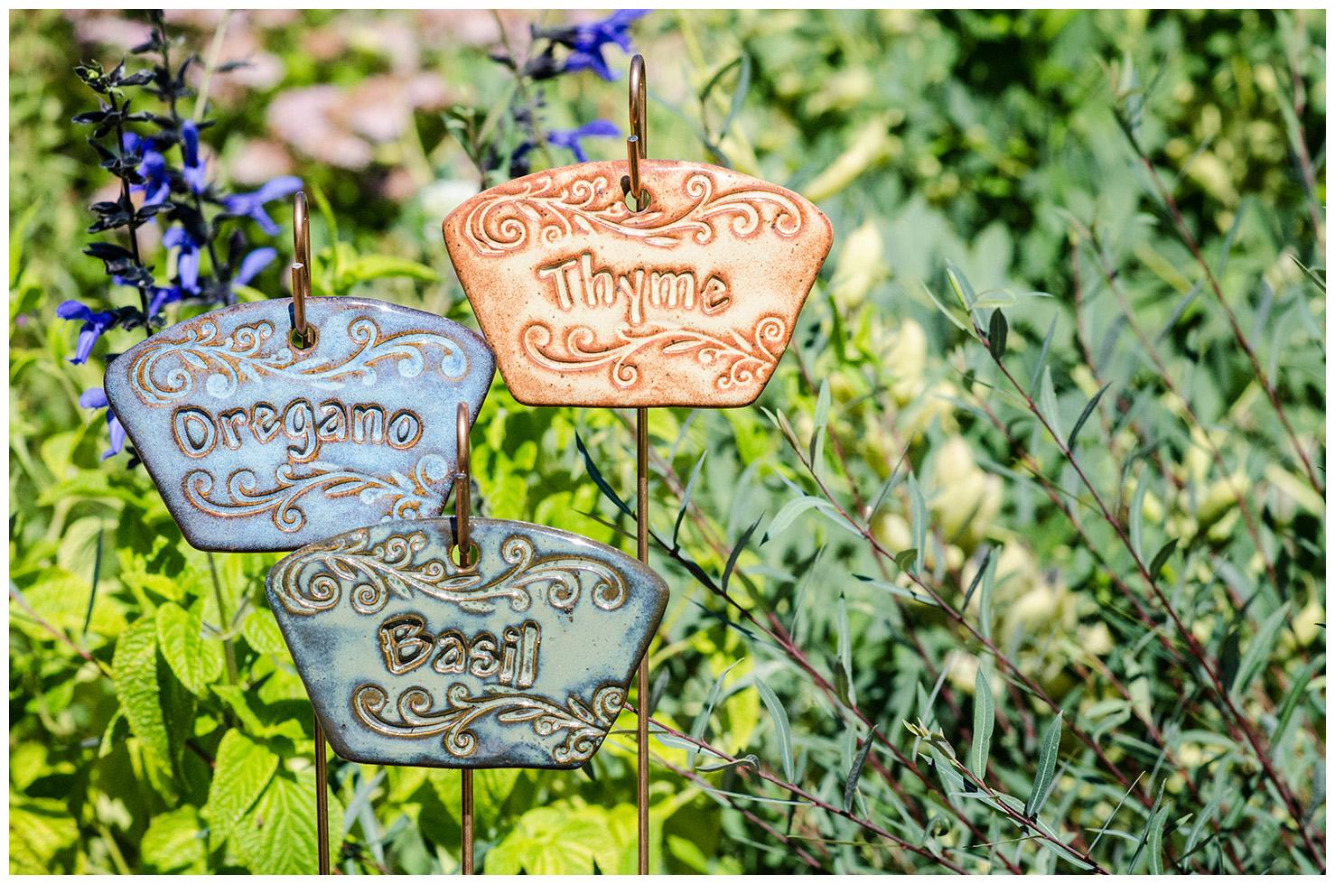 Garden Box Herb Markers 2014