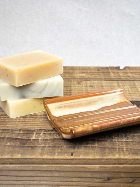 Solorio Pottery Stoneware Soap Dish
