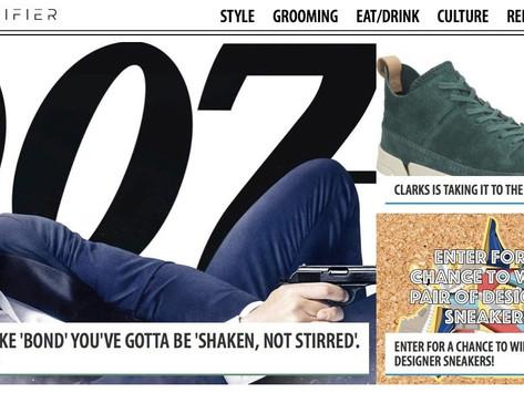 "To Be Like Bond, You've Gotta Be ""Shaken, Not Stirred"""