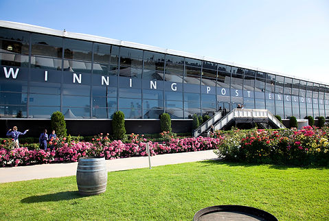 Winning Post Enclosure - Elevated Marquee at Flemington Racecourse. Melbourne Cup Carnival.