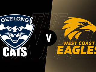 AFL Week 2 - Geelong v West Coast