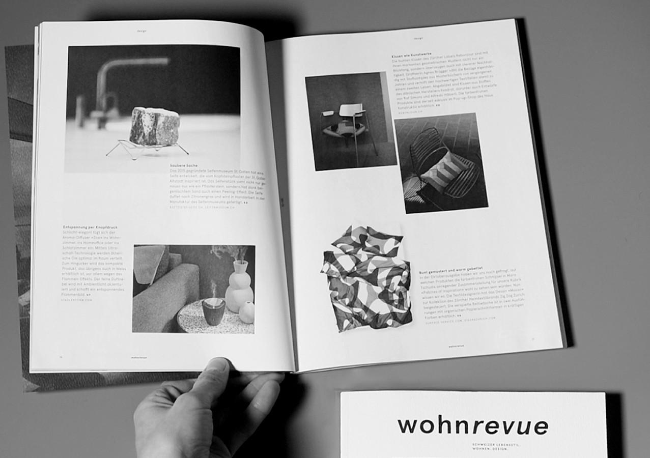 Magazin «wohnrevue»