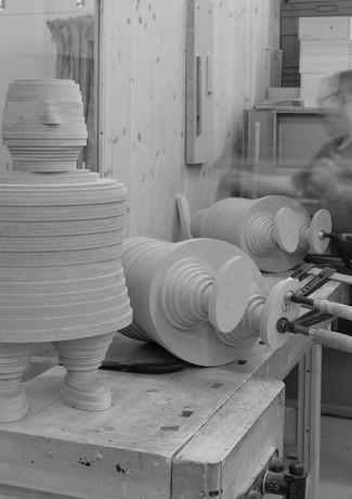 Alles in Form erstellt Prototypen mit Handwerkern