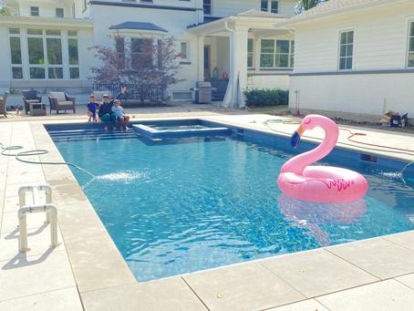We built a pool!
