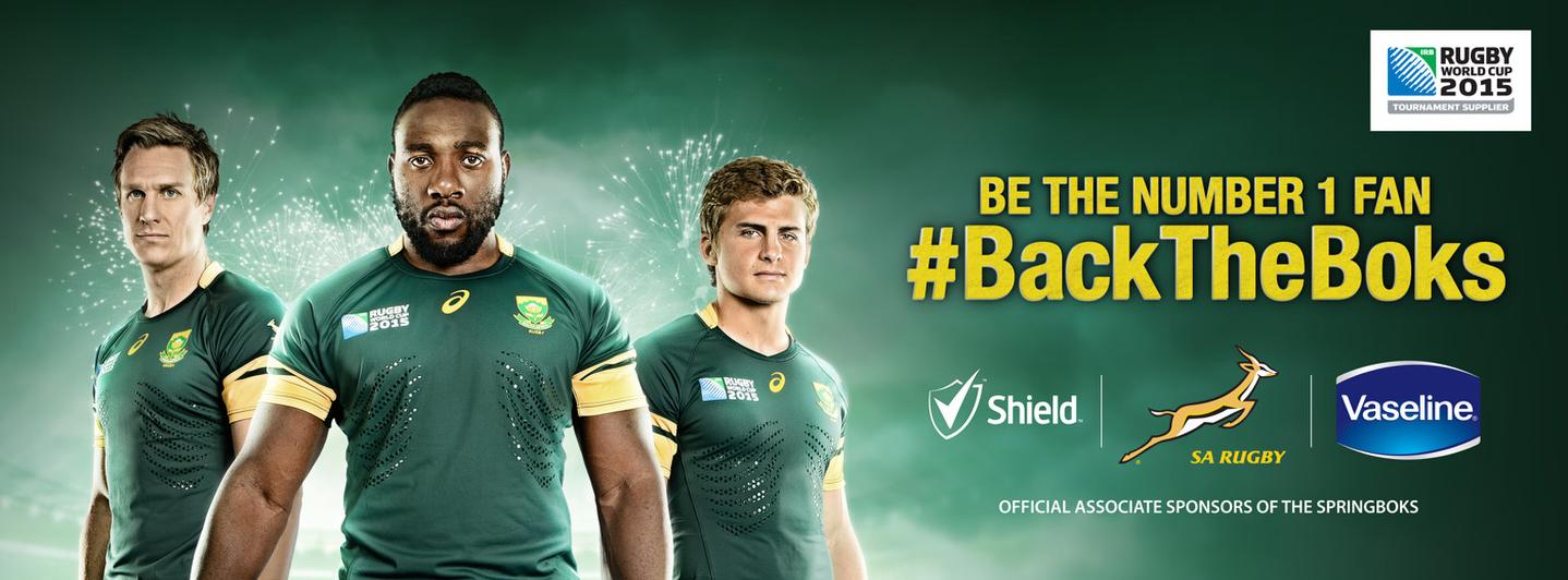 Shield,Vaseline Springbok rugby