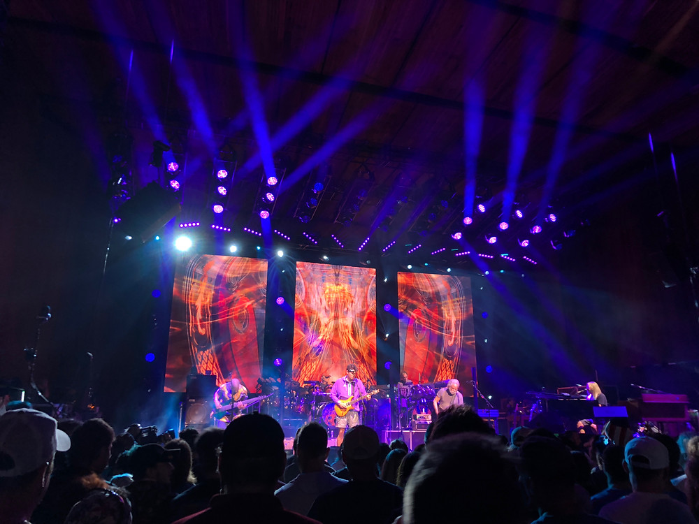 Dead & Company onstage