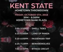 Hometown Throwdown Brings Local Music to Downtown Kent