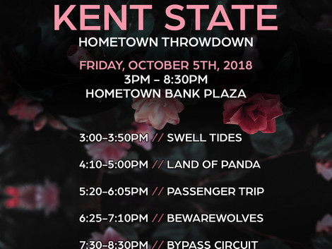 Hometown Throwdown Brings Local Music to Downtown Kent