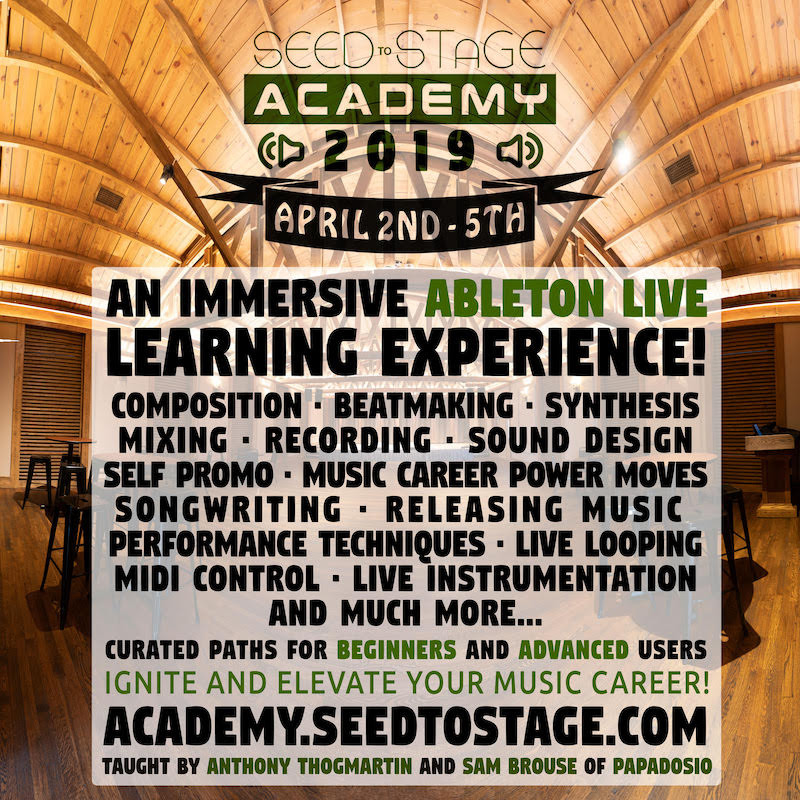 Seed to Stage lineup