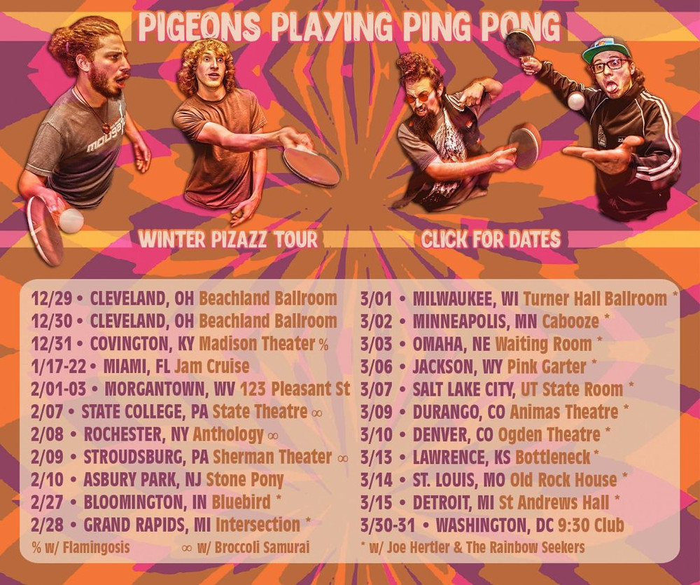 PPPP's show schedule