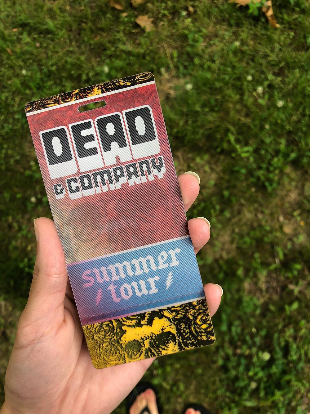 Dead & Company ticket