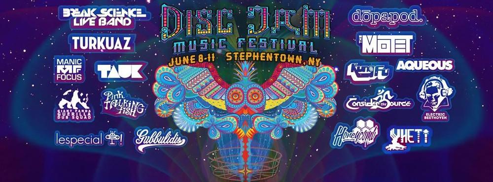 Disc Jam flyer