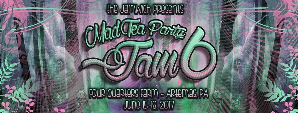 Mad Tea Party Jam flyer