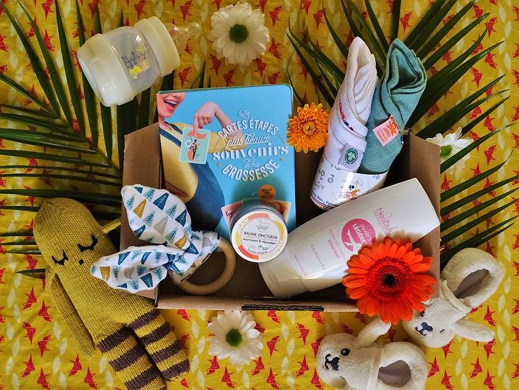 box grossesse, box femme enceinte, box naissance, box bébé, idée cadeau grossesse, cadeau grossesse, cadeau naissance