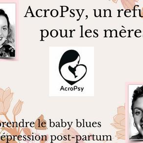 Dépression post-partum, parlons-en ! Découverte d'Acropsy, un refuge pour les mamans.