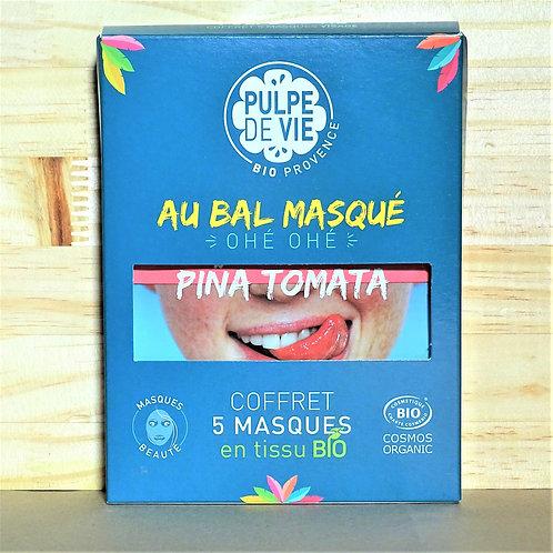 Coffret 5 masques bio - Pulpe de Vie