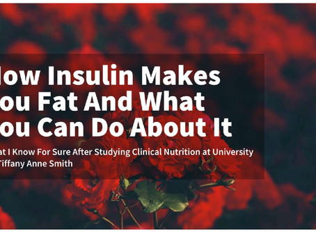 How Insulin Makes You Fat + What To Do About It Ebook