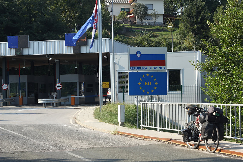 Cycle touring Slovenia
