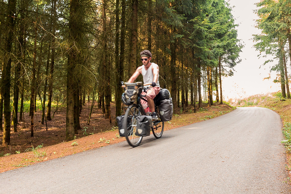 Cycle touring Luxembourg