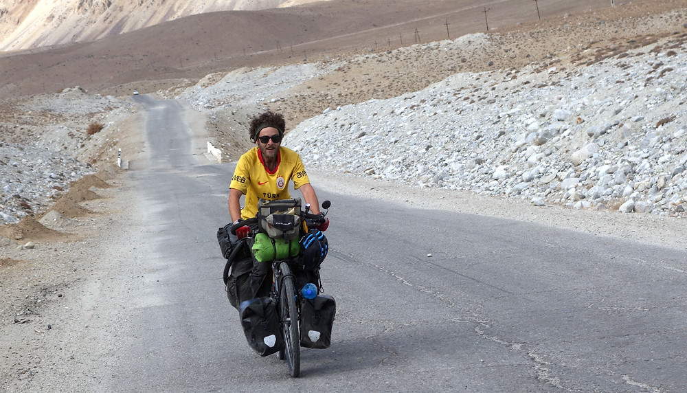 Cycle touring the Pamir highway