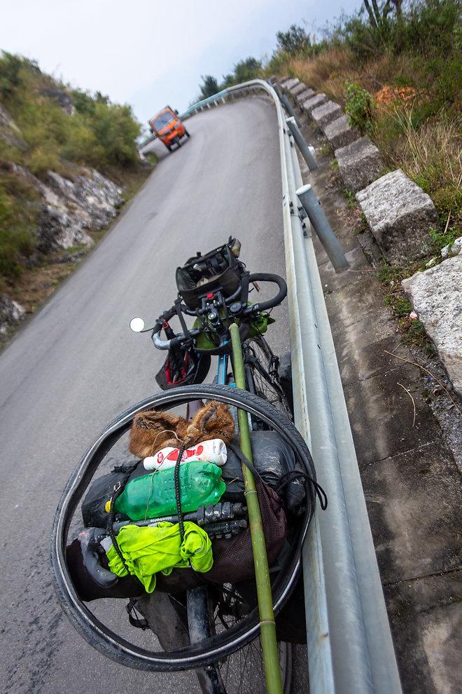 Touring bicycle