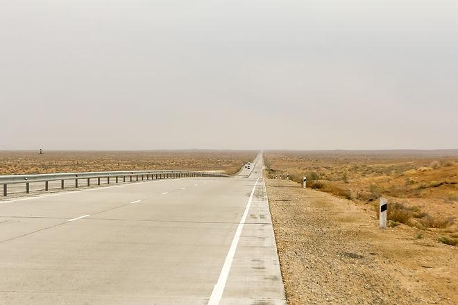 Highway Uzbekistan