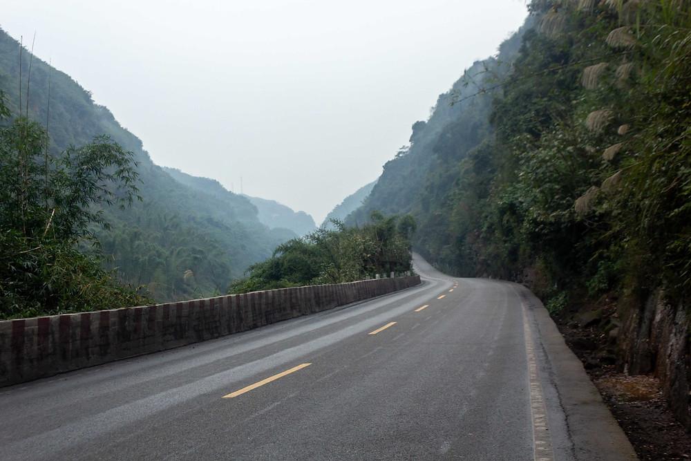 Yongning river, China