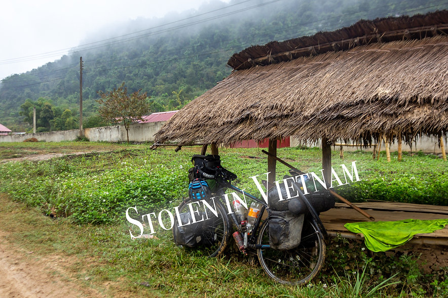 Don't get your touring bicycle stolen