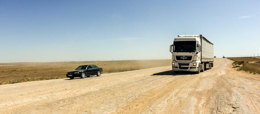 Beyneu to Uzbekistan and the road of death!
