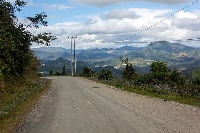 Mountains Laos