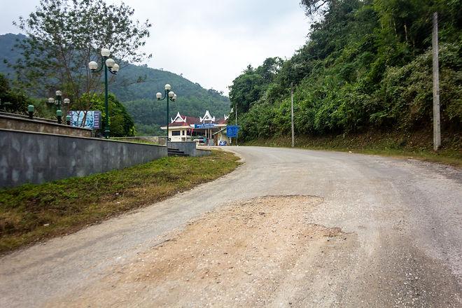 Vietnam Laos border