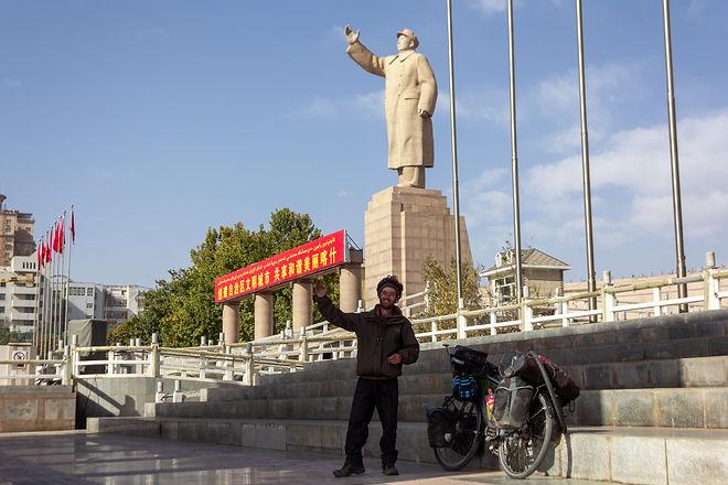 Arrival in Kashgar