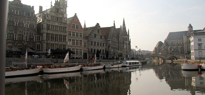 Antwerp to Ghent. Restoration to the max
