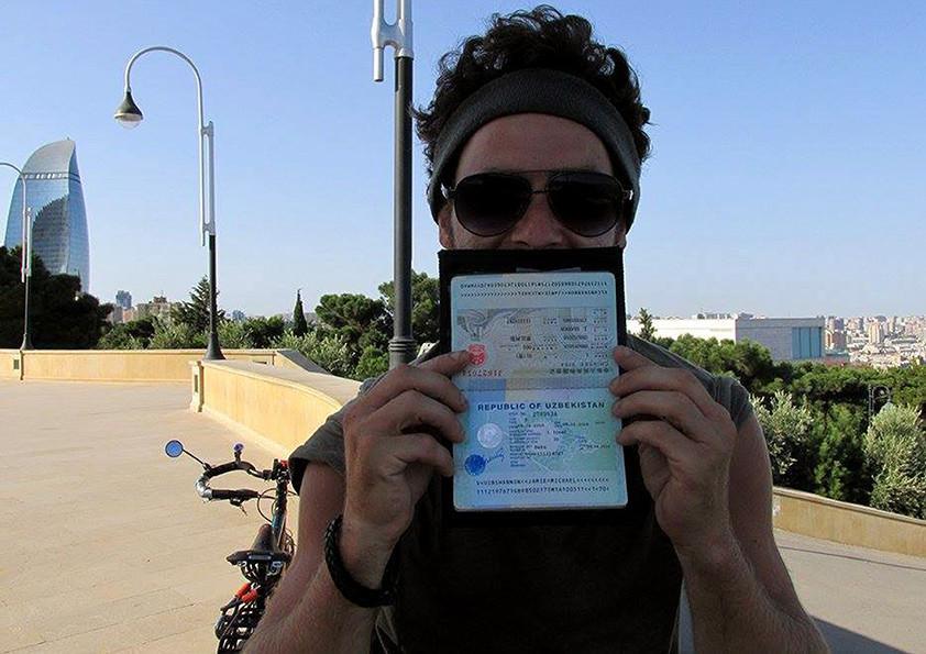 Getting a visa for Uzbekistan