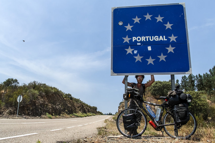 Cycle touring Portugal