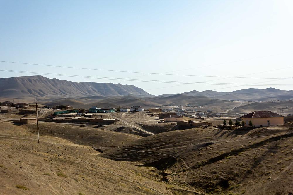 The desert of Uzbekistan