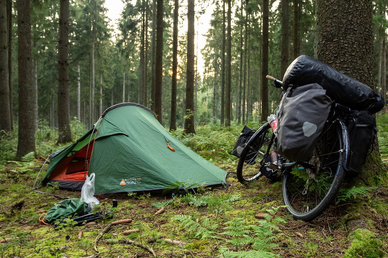 Wild camping Belgium
