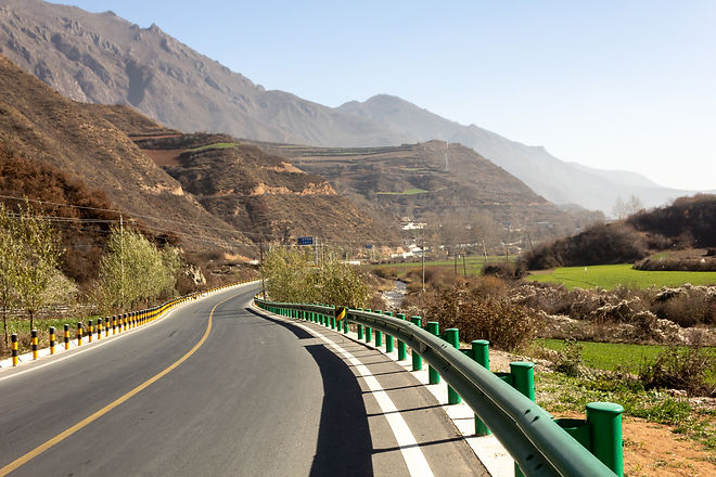 Beautiful highway china