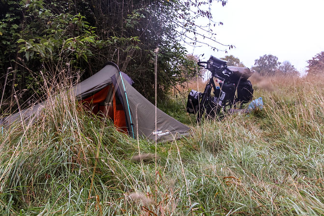 Stealth camping England