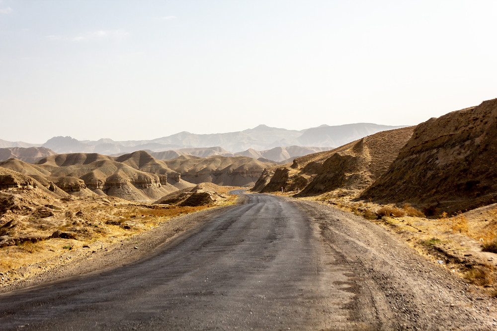 Mountains of Uzbekistan