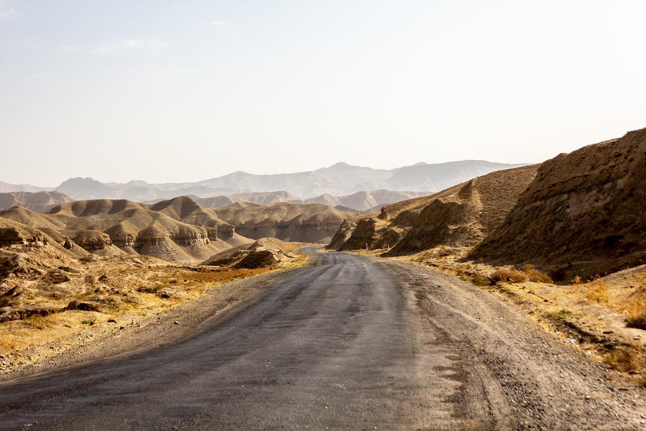 Desert Central asia