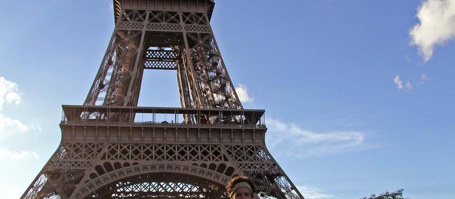 Through northern France. Hello Paris