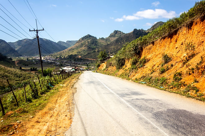 Cycle touring in laos