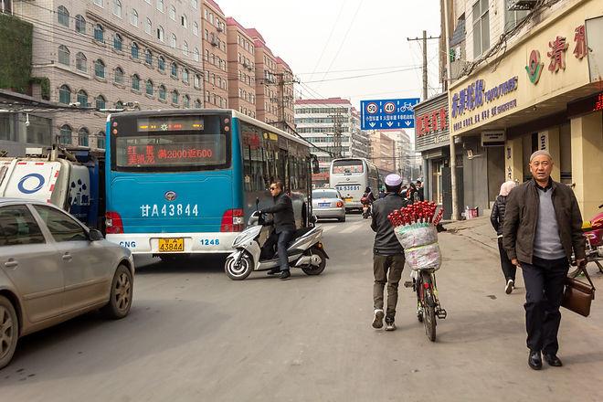 Leaving Lanzhou
