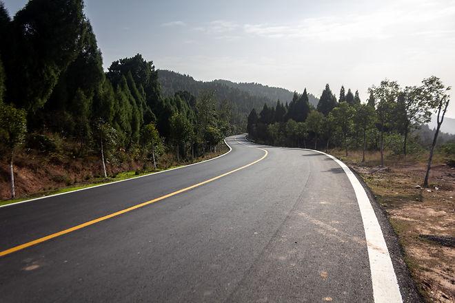 Beautiful road china