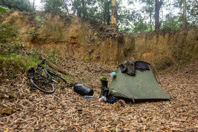 How to stealth camp in Vietnam