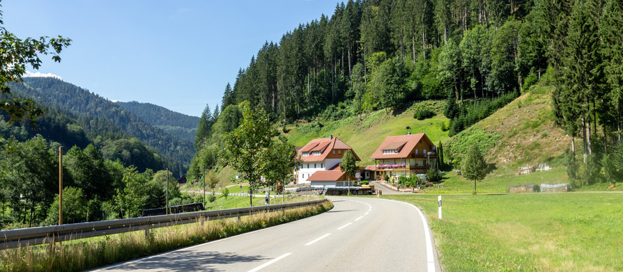 Maastricht to Munich -Schwarzwald and crossing the Alps