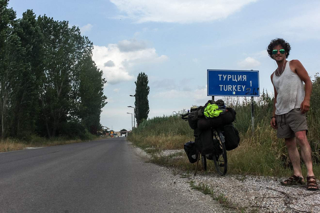 Turkey cycle touring
